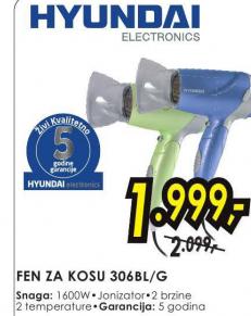 Fen za kosu 306BL/G