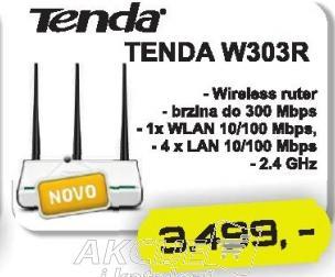 Bežični ruter W303R