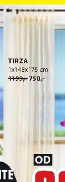 Zavesa Tirza