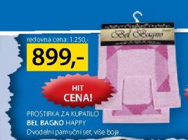 Prostirka za kupatilo Bel Bagno Happy