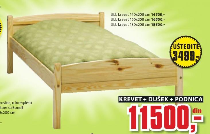 Krevet Jill, 140x200cm