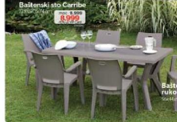 Baštenski sto Carribe