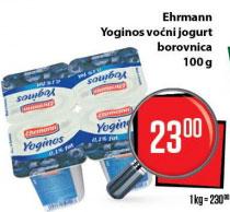 Voćni jogurt borovnica