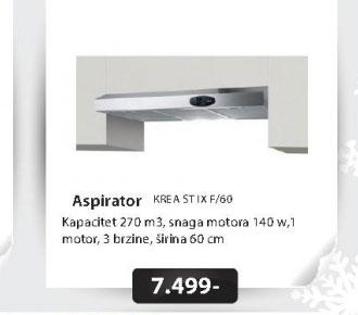 Aspirator KREA ST IX F/60