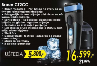 Aparat za brijanje CT2CC