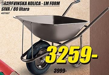 Građevinska kolica Lm Form