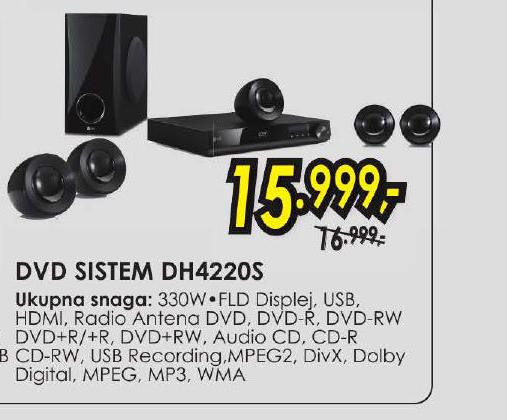 DVD SISTEM DH4220 S
