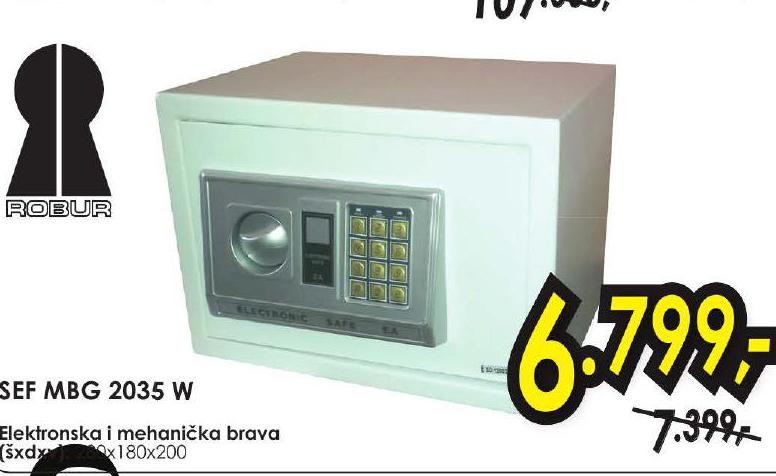 Sef MBG 2035 W