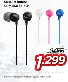 Slušalice Mdr-Ex15lp