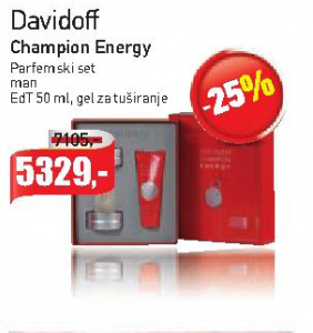 Davidoff Champion Energy Parfemski set