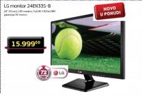 "Monitor 24"" LG 24EN33S-B LED"