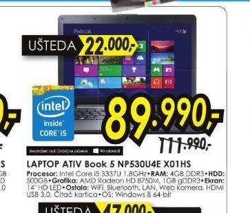 Laptop ATIV Book 5 NP530U4E-X01HS