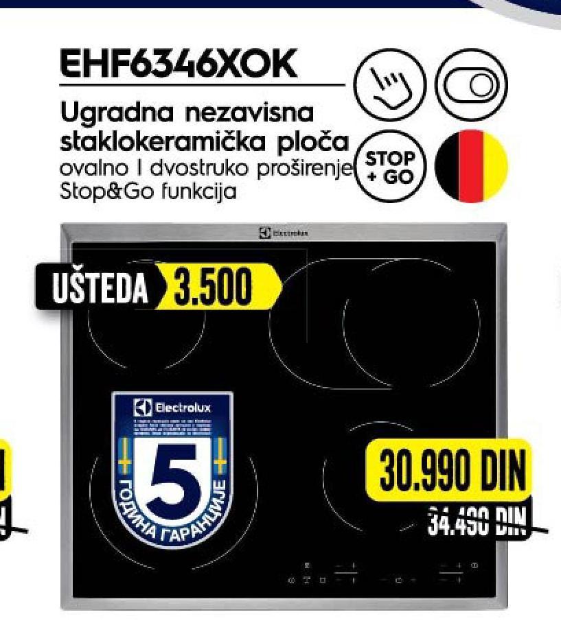 Ugradna ploča Ehf 6346XOK