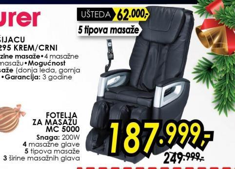 Fotelja za masažu Mc 5000
