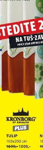 Zavesa za kupatilo Tulip