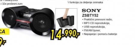 Radio CD ZS-BTY52C