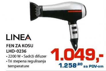 Fen za kosu Lhd-0236