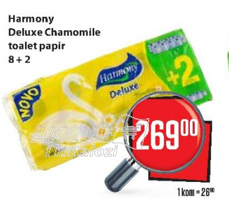 Toalet papir Deluxe Chamomile