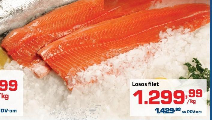 Riba losos filet