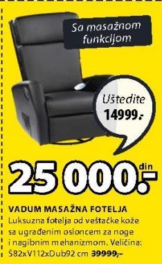 Masažna Fotelja Vadum