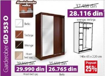 Garderober GD553O Belo