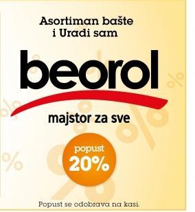 20% popusta na Beorol
