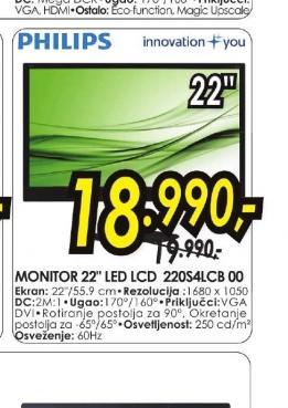 Monitor 220S4LCB/00