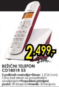 Bežični telefon Cd1801r 53