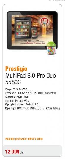 Multipad Pmp5580C Pro Duo