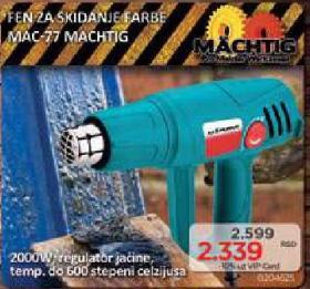 Fen za skidanje farbe Mac-77
