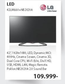 Televizor LED 42LM660 + sound bar NB2020A