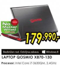 Laptop Qosmio X870-13D