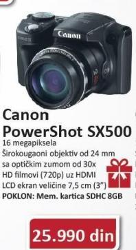Digitalni Fotoaparat Powershot SX500