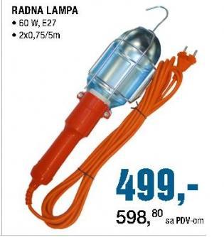 Radna lampa