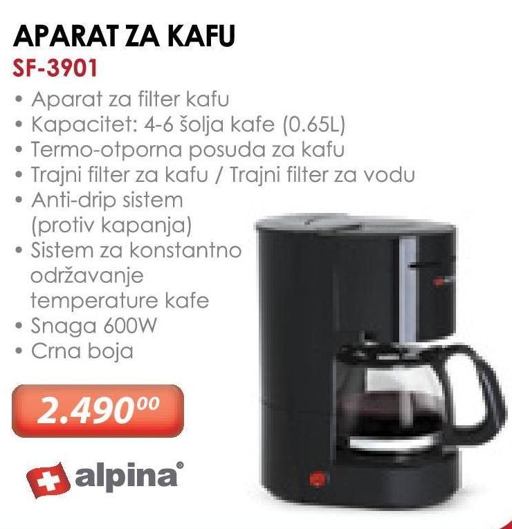 Aparat za kafu SF-3901