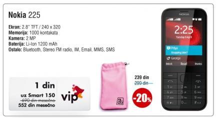 Mobilni telefon 225