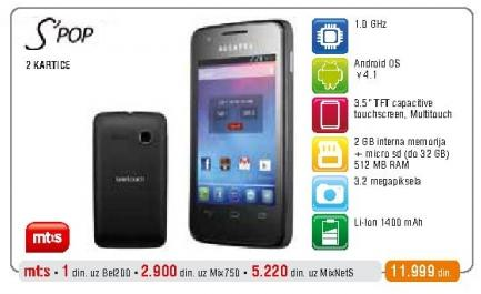 Mobilni telefon S pop