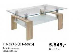 Klub sto TT-024S(CT-6023)