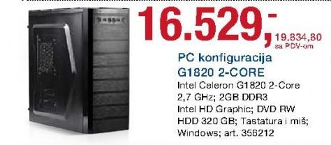 Računar G1820 2-Core