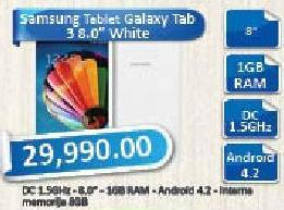 Tablet Galaxy Tab 3 8.0 White
