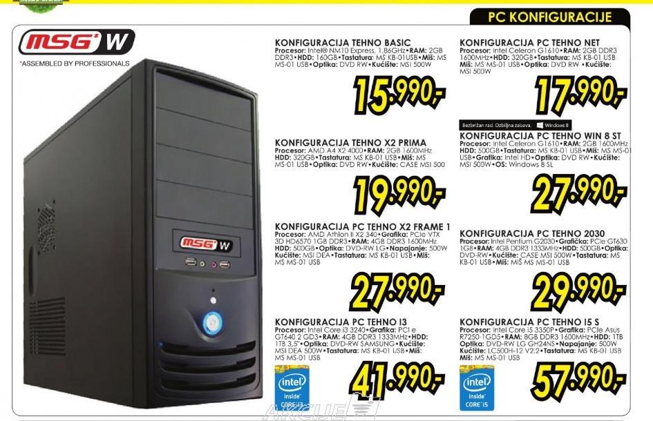 Konfiguracija PC TEHNO NET
