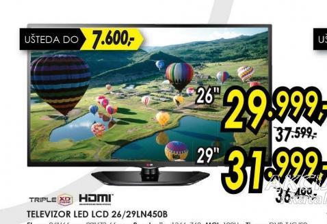 Televizor LED LCD 29LN450B