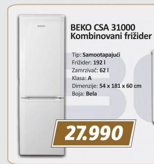 Kombinovani frizider CSA 31000