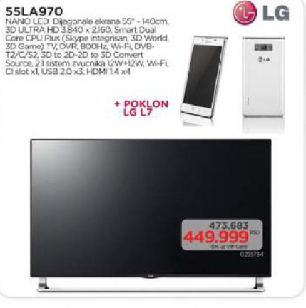 Televizor LED 55LA970