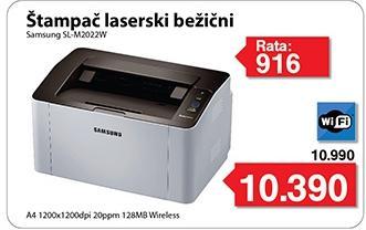 Laserski štampač SL-M2022W