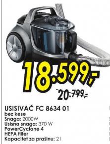 Usisivač FC 8634/01