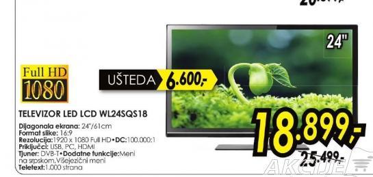 Televizor LED WL24SQS18