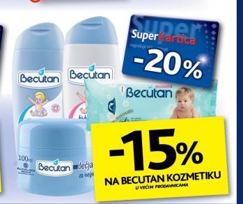 15% popusta na Becutan kozmetiku