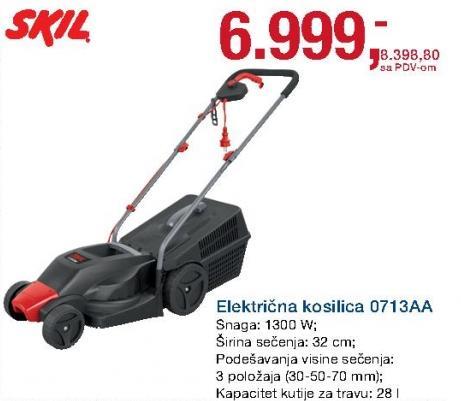 Električna kosilica 0713aa Skil