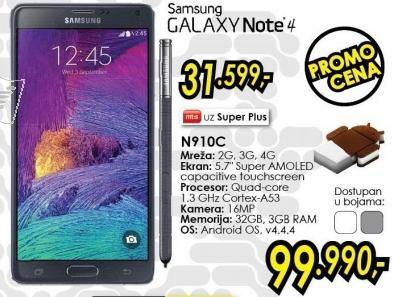 Mobilni telefon Galaxy Note 4 N910c